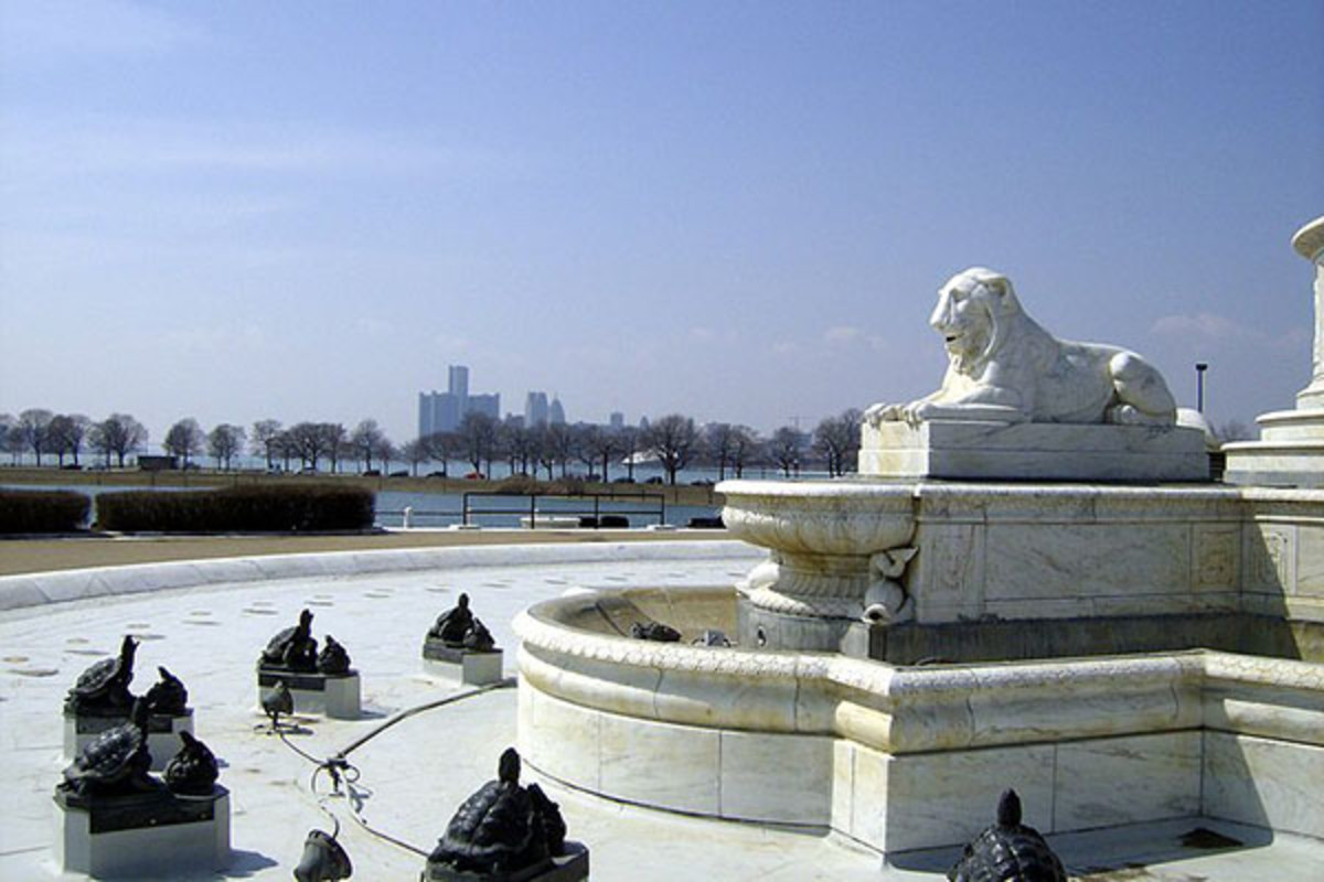 A view of Detroit from Belle Isle Park. (PHOTO: MIKE RUSSELL/WIKIMEDIA COMMONS)