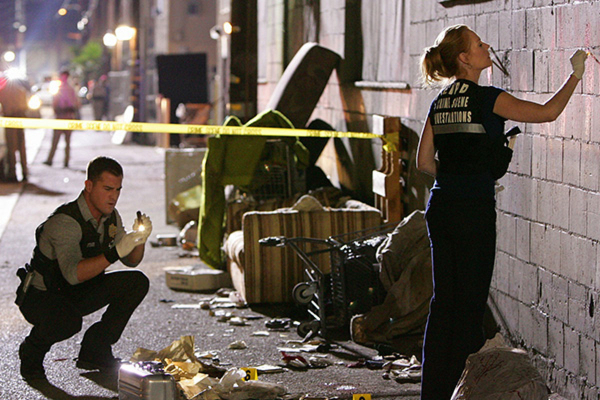 CSI. (PHOTO: COURTESY OF CBS)
