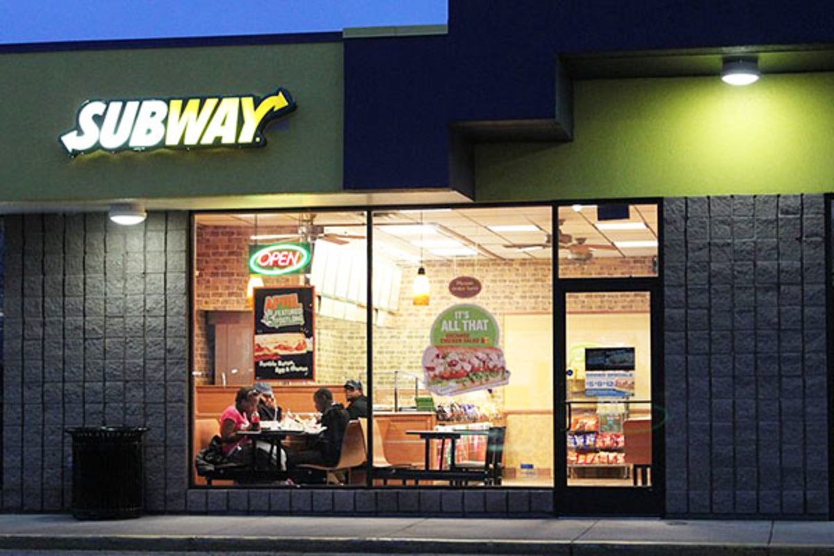 A Subway restaurant in Pittsfield Township, Michigan. (PHOTO: <a href=