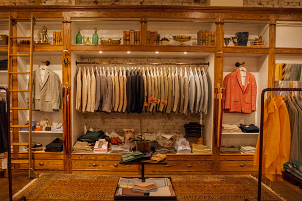 Carson Street Clothiers. (PHOTO: MATT BREEN & BRIAN TRUNZO)