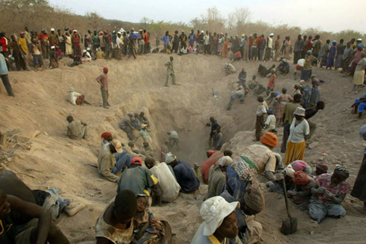 The Marange diamond fields. (PHOTO: HUMAN RIGHTS WATCH)