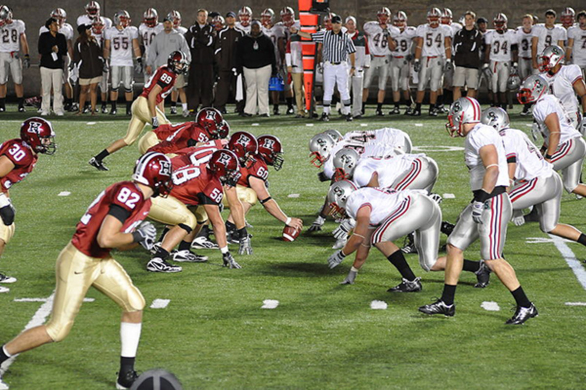 Brown vs. Harvard, September 2009. (PHOTO: CHENSIYUAN/WIKIMEDIA COMMONS)
