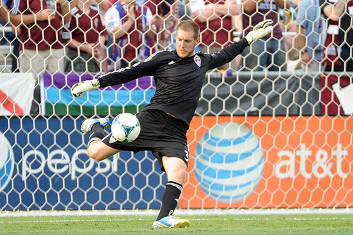 Clint Irwin. (PHOTO: BART YOUNG/COLORADO RAPIDS)