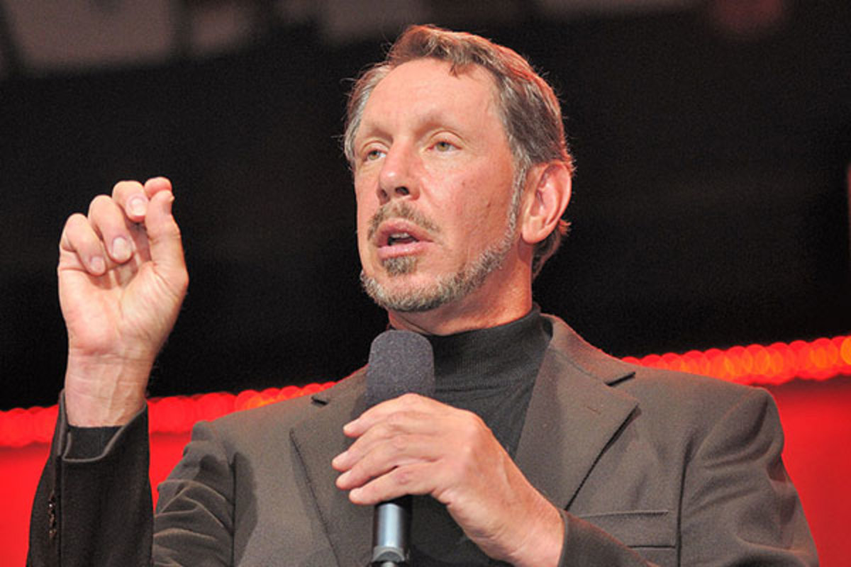 Larry Ellison. (PHOTO: WIKIMEDIA COMMONS)