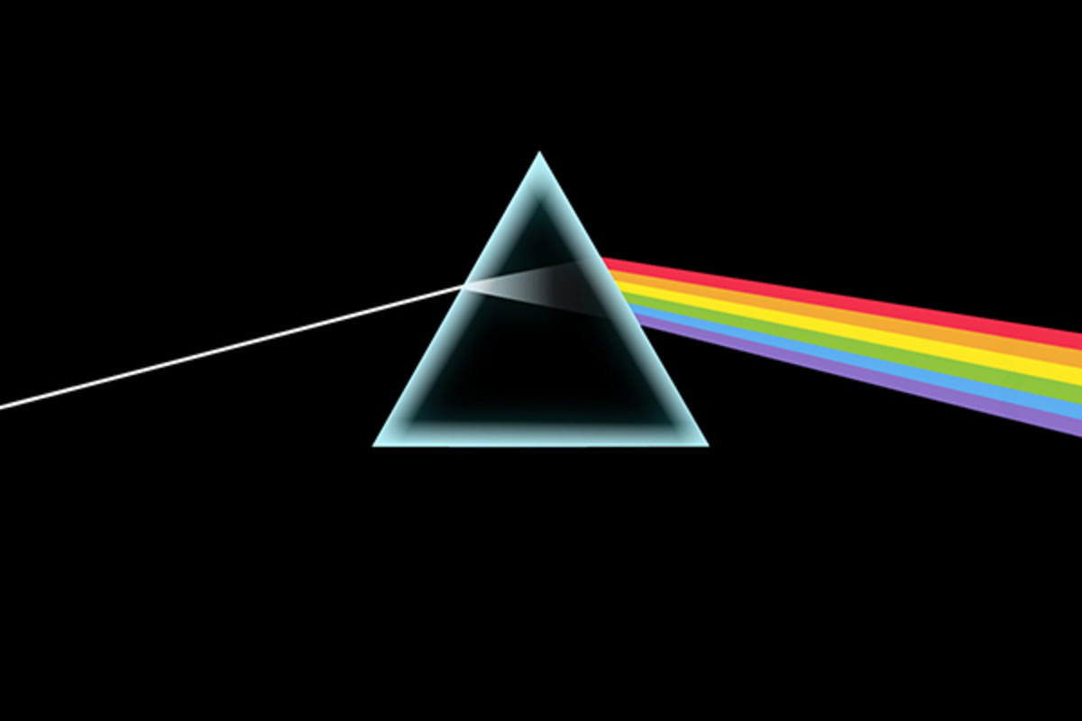 The iconic artwork for Pink Floyd's The Dark Side of the Moon was designed by Hipgnosis and George Hardie. (PHOTO: COURTESY OF HARVEST/CAPITOL)