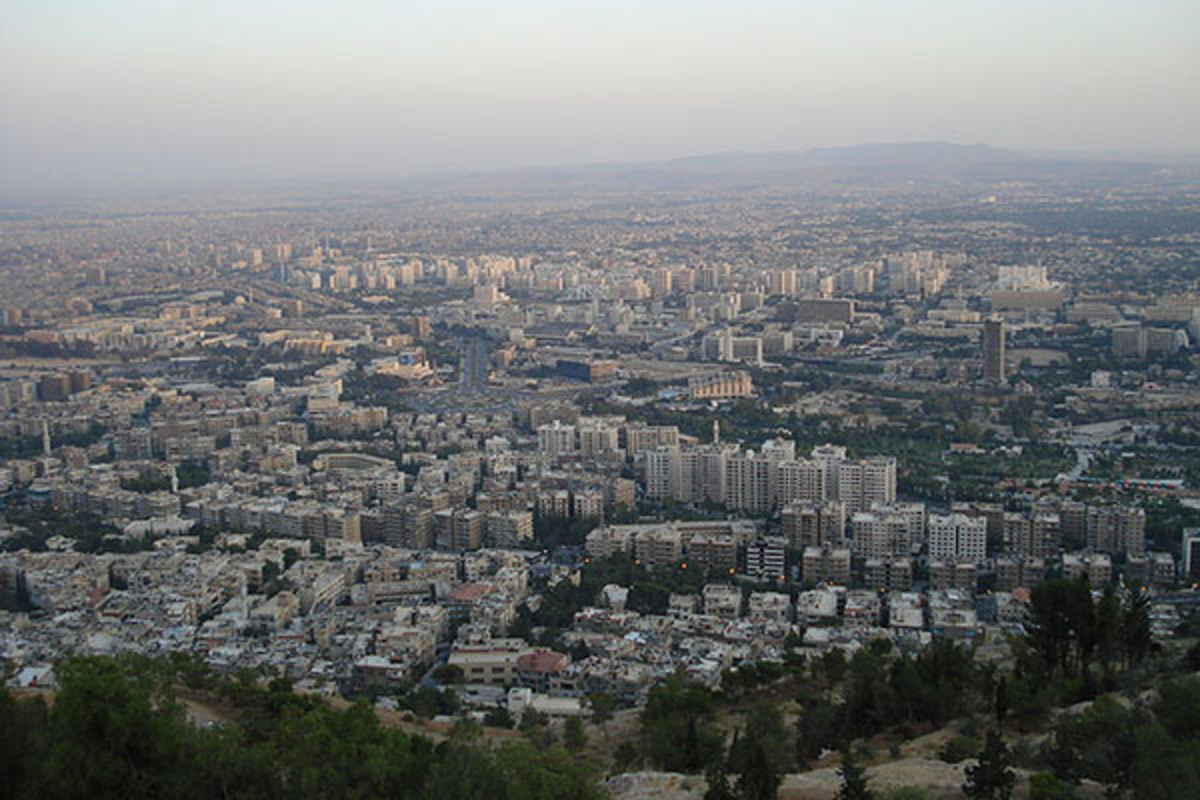 View of Damascus. (PHOTO: PUBLIC DOMAIN)