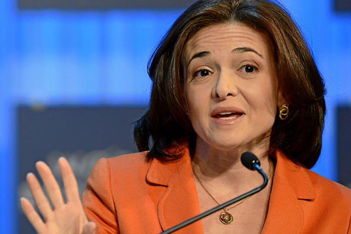 Sheryl Sandberg at the 2013 World Economic Forum in January 2013. (PHOTO: WORLD ECONOMIC FORUM/WIKIMEDIA COMMONS)
