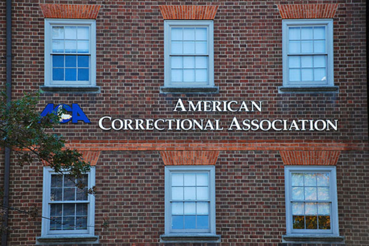 The American Correctional Association. (PHOTO: ADAM FAGEN/FLICKR)