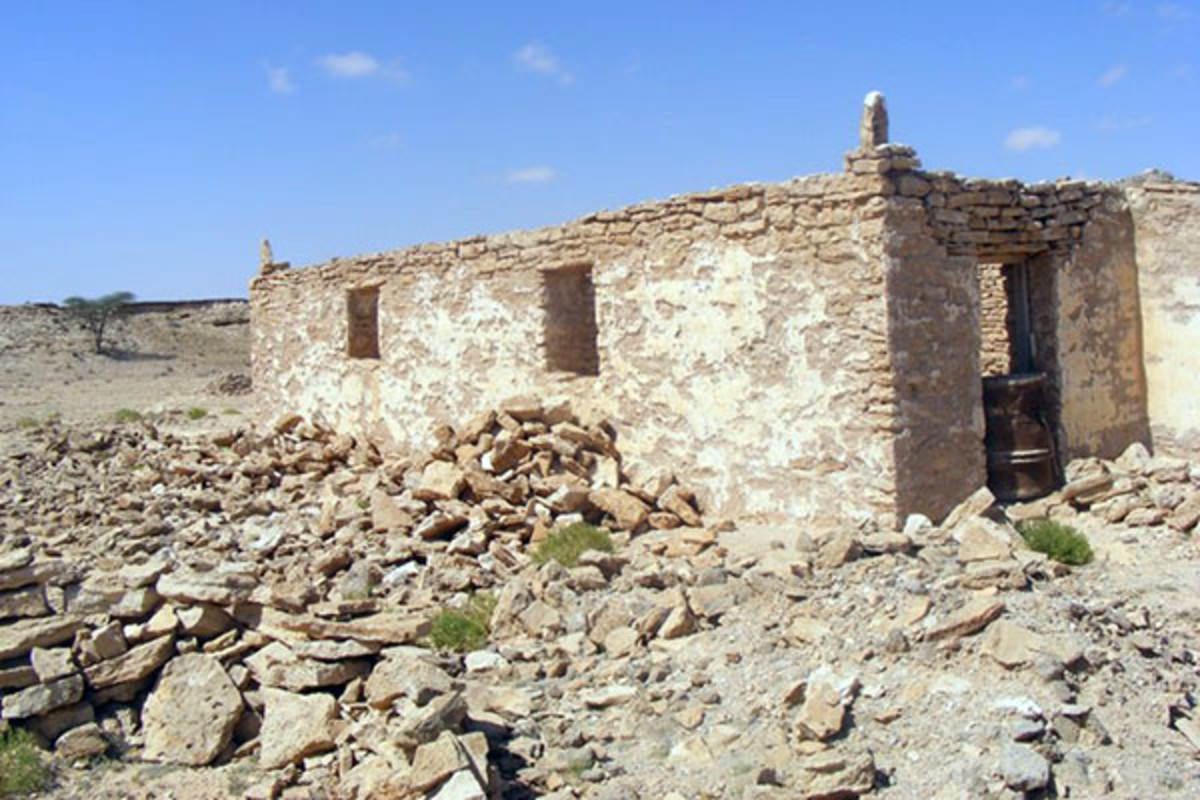 Ruins of Qa'ableh, Somalia. (PHOTO: ABDIRISAK/WIKIMEDIA COMMONS)