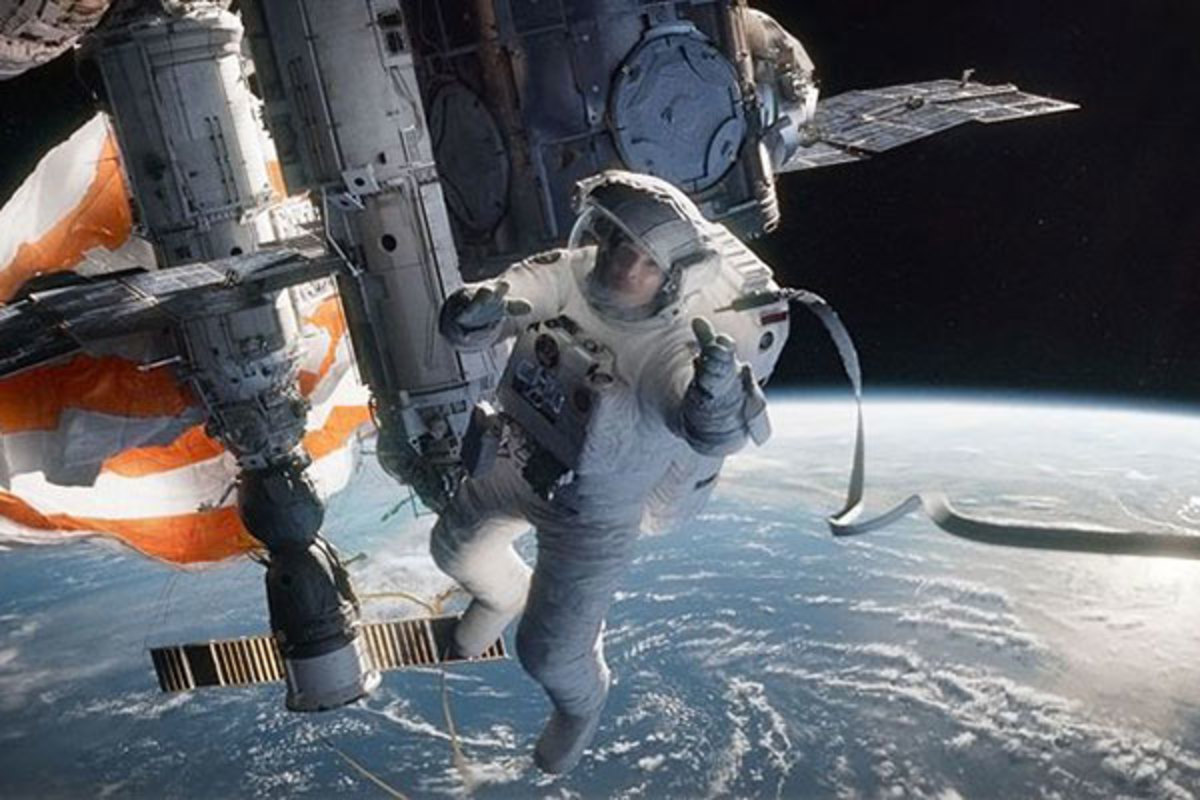 Gravity. (PHOTO: COURTESY OF WARNER BROS.)