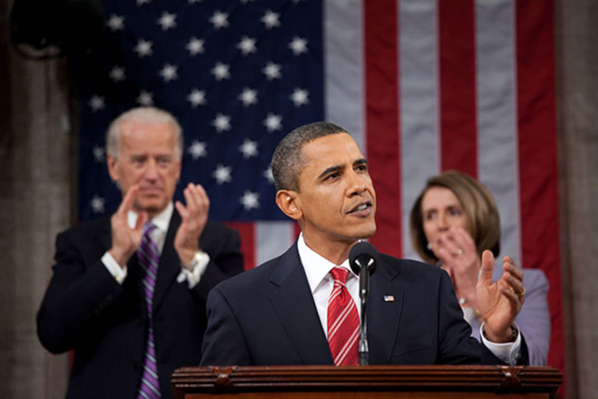President Obama delivering the State of the Union to the United States Congress. (PHOTO: PUBLIC DOMAIN)