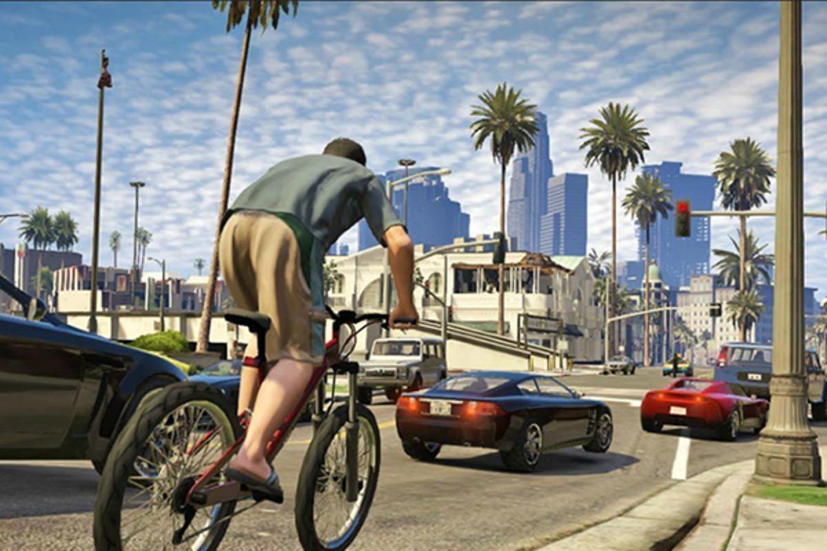 Grand Theft Auto V. (PHOTO: COURTESY OF ROCKSTAR GAMES)