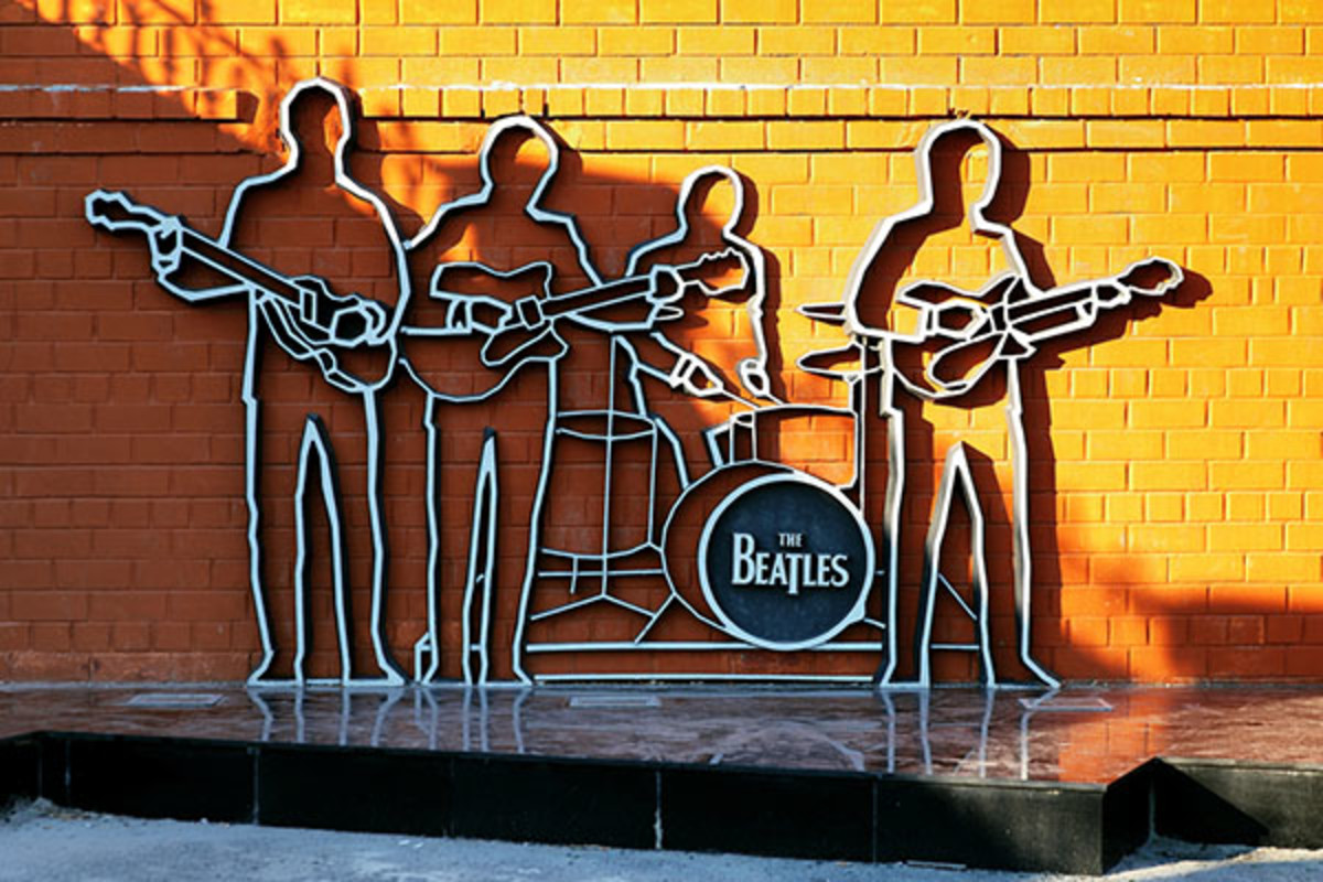 Beatles monument. (PHOTO: MIKHAIL MARKOVSKIY/SHUTTERSTOCK)