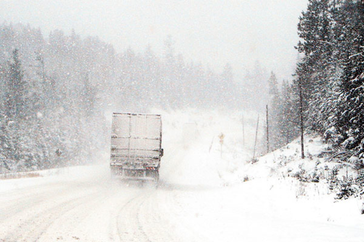 Winter driving. (PHOTO: P199/WIKIMEDIA COMMONS)
