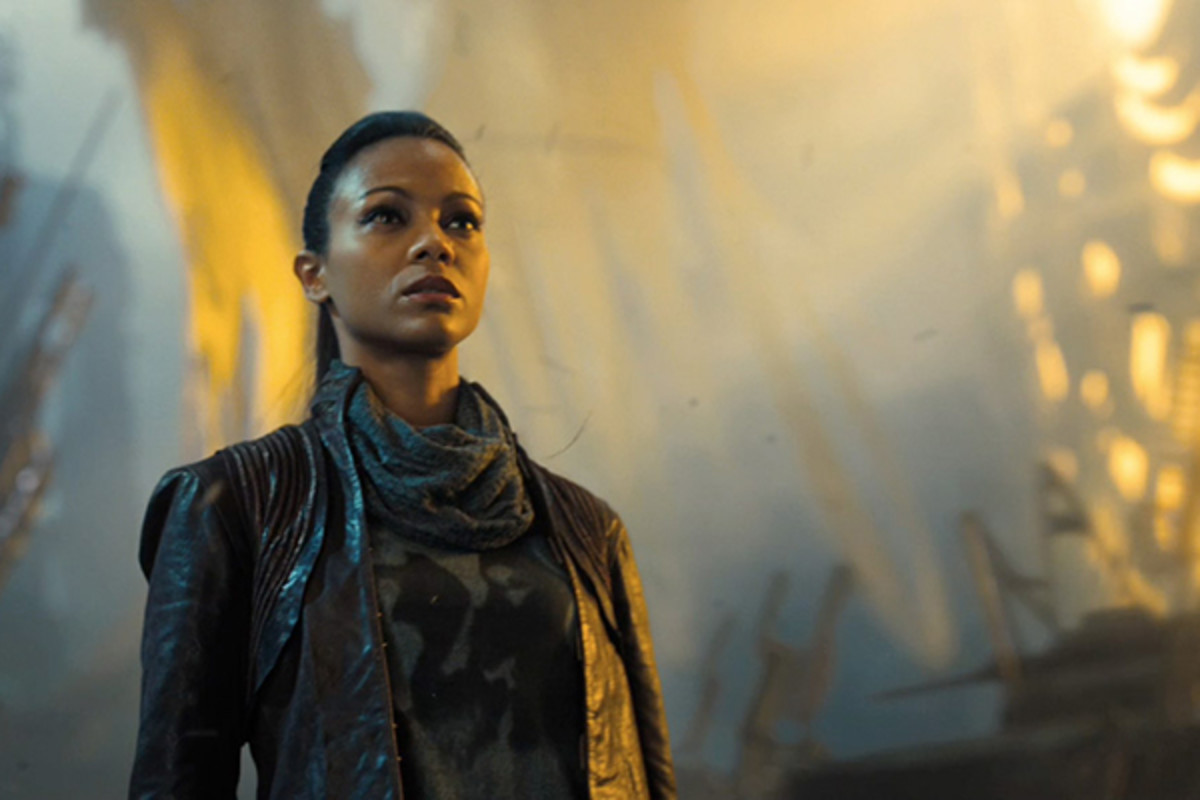Uhura in Star Trek Into Darkness. (PHOTO: COURTESY OF PARAMOUNT PICTURES)
