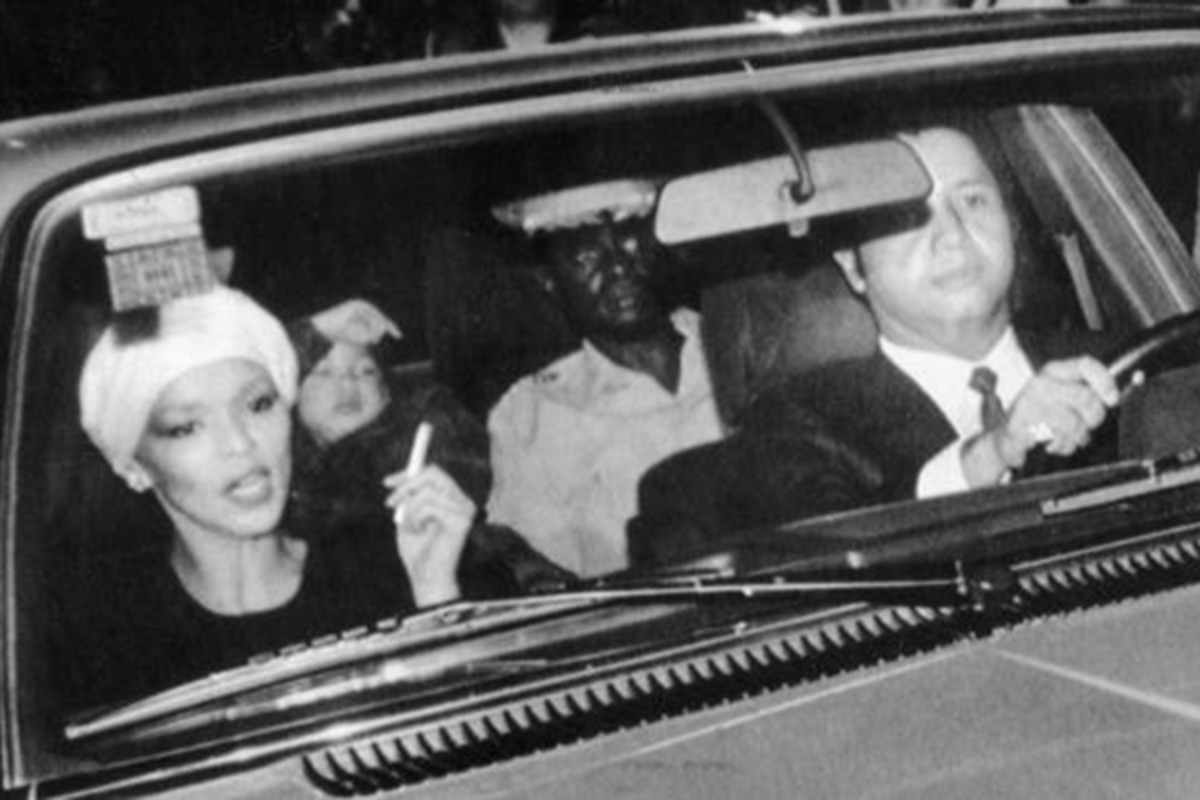 Michèle Duvalier leaves Haiti. (PHOTO: PUBLIC DOMAIN)