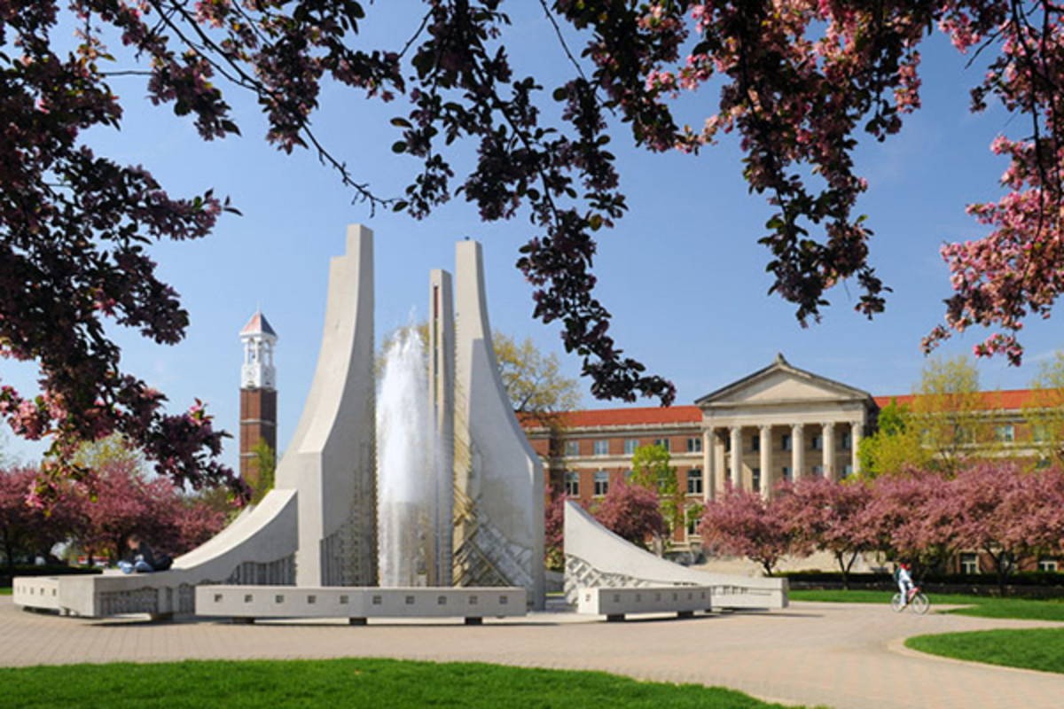 Engineering Fountain at Purdue University. (PHOTO: COURTESY OF PURDUE UNIVERSITY)