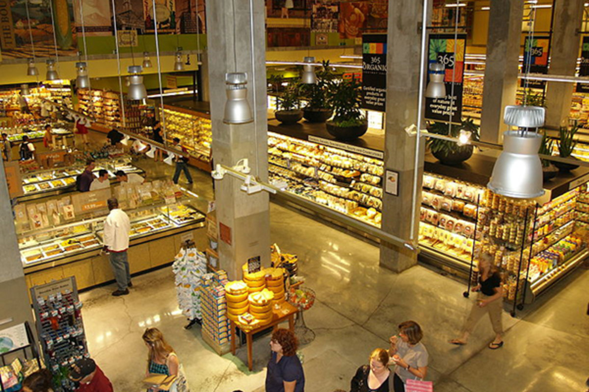 The Whole Foods Market in New York City's Bowery is the largest grocery store in the city. (PHOTO: DAVID SHANKBONE/WIKIMEDIA COMMONS)