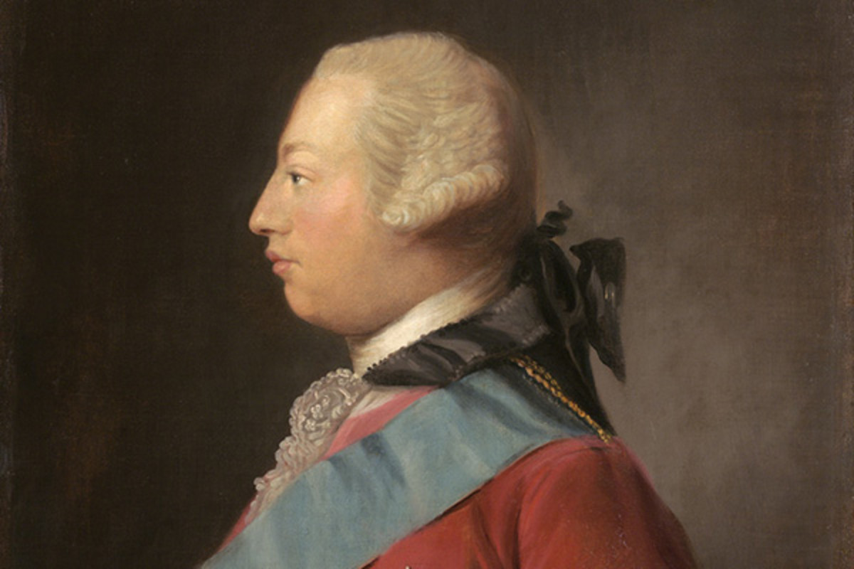 George III by Allan Ramsay, 1762. (PORTRAIT: PUBLIC DOMAIN)
