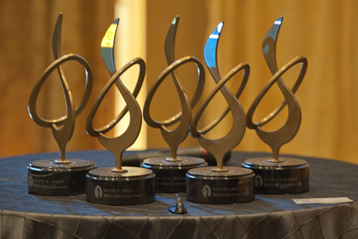 A flock of Golden Goose Awards. (PHOTO: CREATIVE COMMONS)