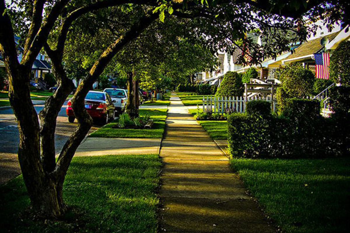 A residential street in Lakewood, Ohio. (PHOTO: JOSHUA ROTHHAAS/WIKIMEDIA COMMONS)