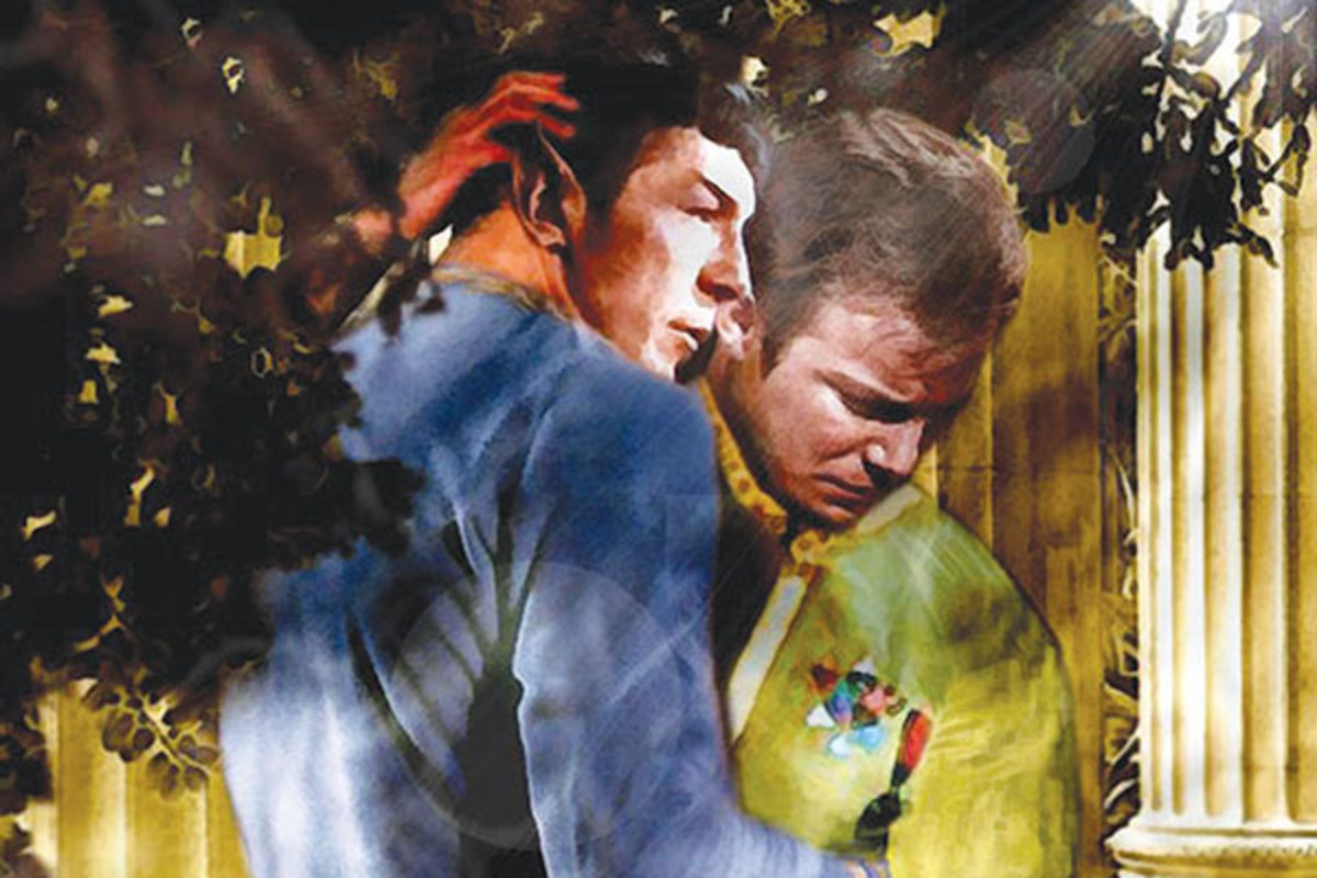 Kirk and Spock are the ur-couple of fan fiction's reimagined