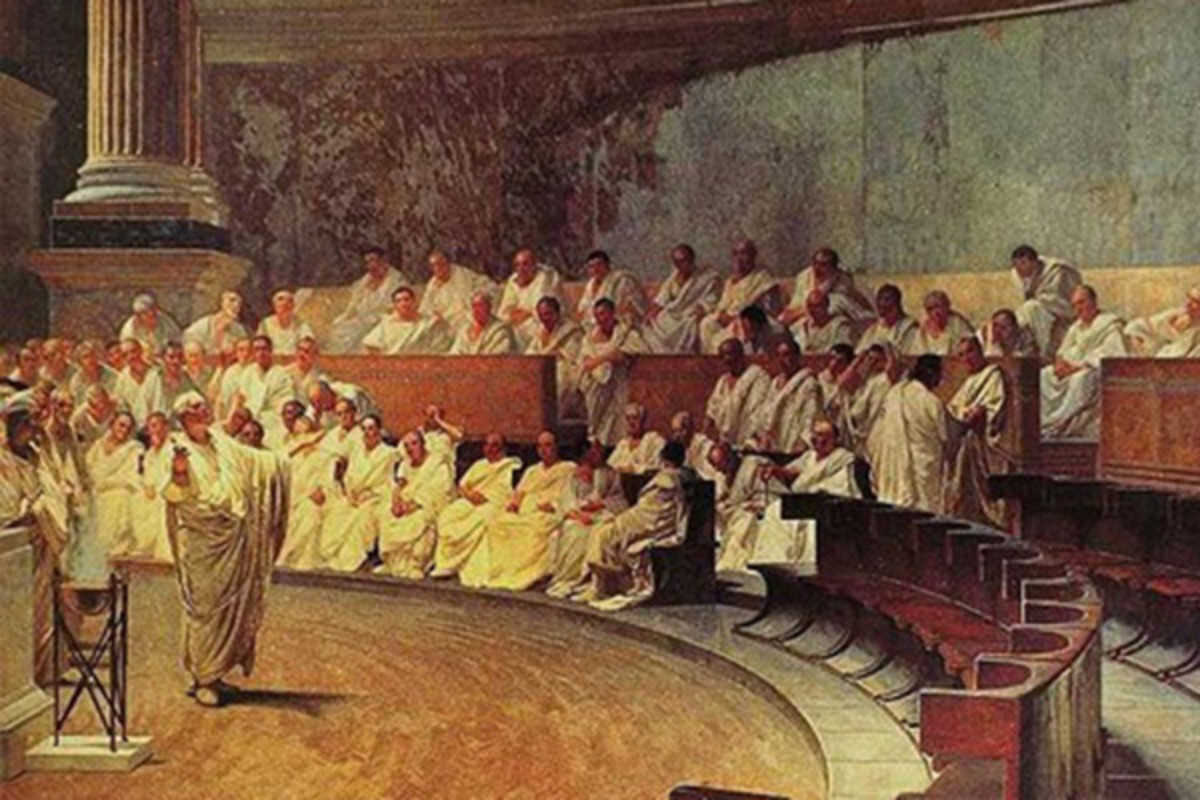 The Roman filibuster. (IMAGE: PUBLIC DOMAIN)