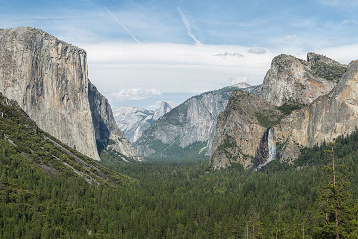 Yosemite Valley from Tunnel View. (PHOTO: DAVID ILIFF)