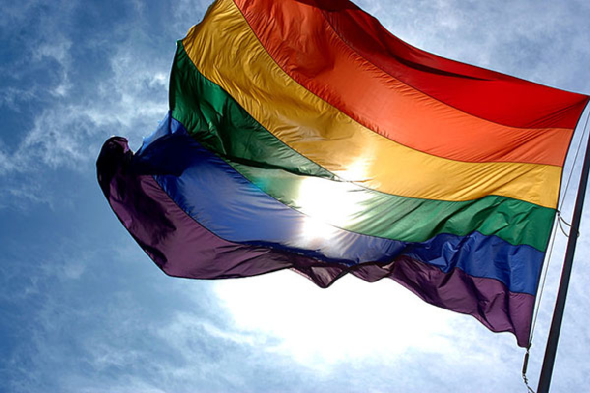 Rainbow flag. (PHOTO: LUDOVIC BERTRON/WIKIMEDIA COMMONS)