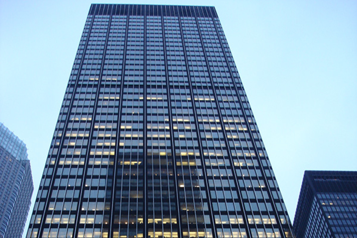 JPMorgan Chase & Co. headquarters in Manhattan, New York City. (PHOTO: OFFICIALL-LY COOL/WIKIMEDIA COMMONS)