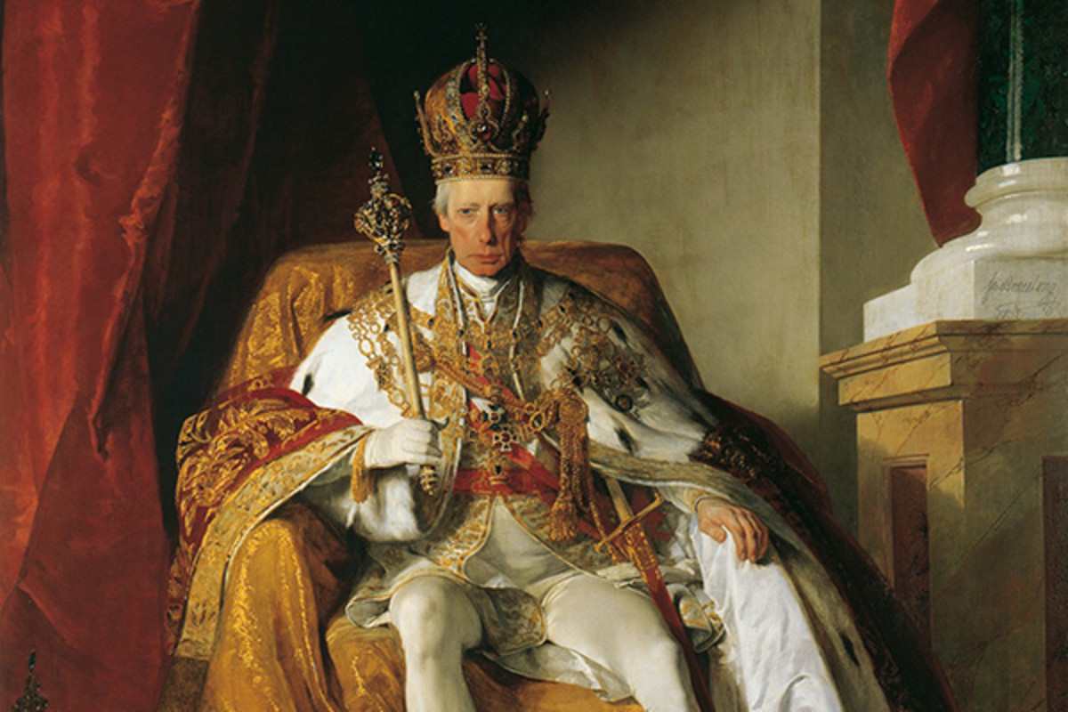 Kaiser of the Austrian Empire, Franz I (1804–1835). (PAINTING: PUBLIC DOMAIN)