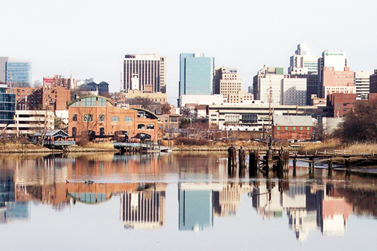 Downtown Wilmington, Delaware, and the Christina River. (PHOTO: TIM KISER/WIKIMEDIA COMMONS)