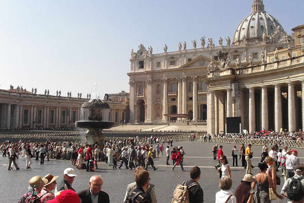 St. Peter's Basilica. (PHOTO: PUBLIC DOMAIN)