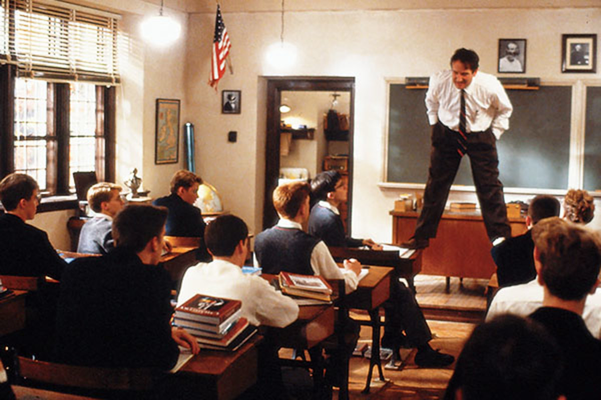 Dead Poets Society. (PHOTO: COURTESY OF TOUCHSTONE PICTURES)