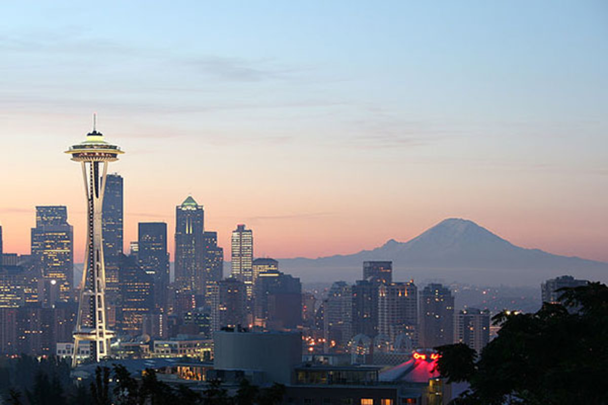Downtown Seattle from Queen Anne Hill. (PHOTO: PUBLIC DOMAIN)