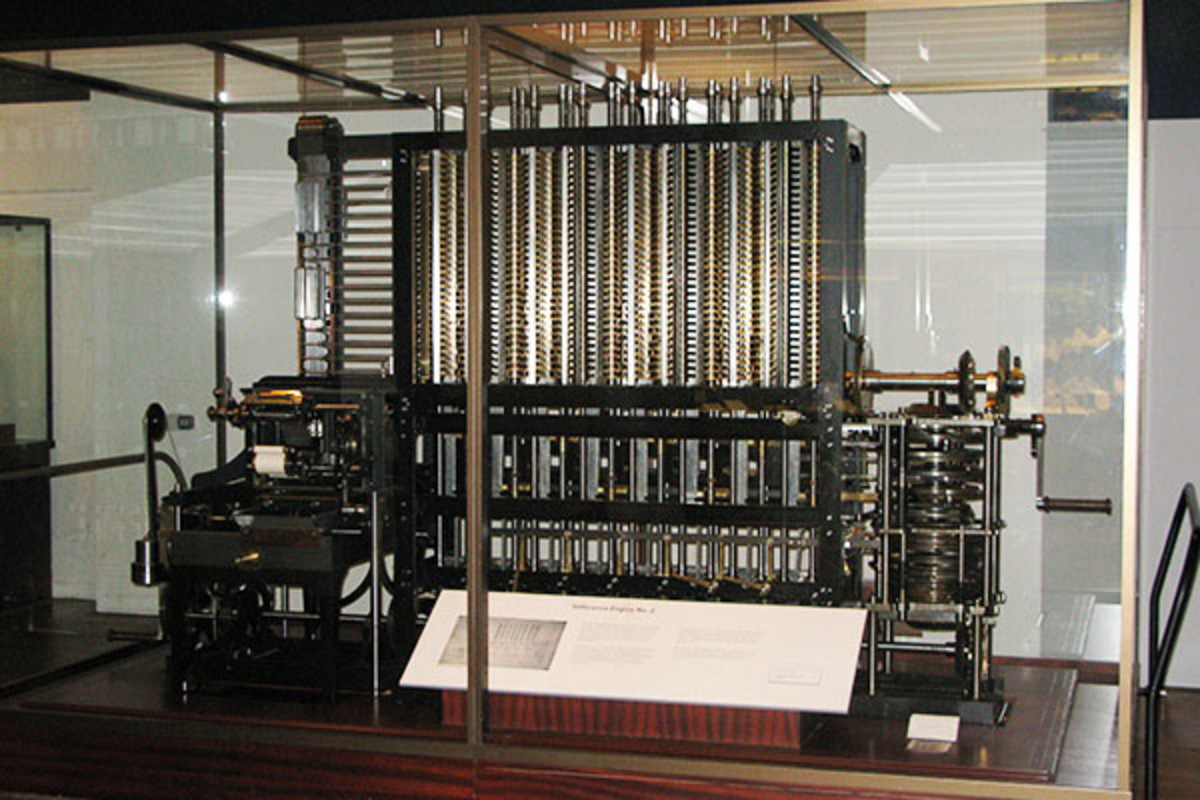 The Babbage Analytical Engine, for which the first algorithm was designed. (PHOTO: GENI/WIKIMEDIA COMMONS)