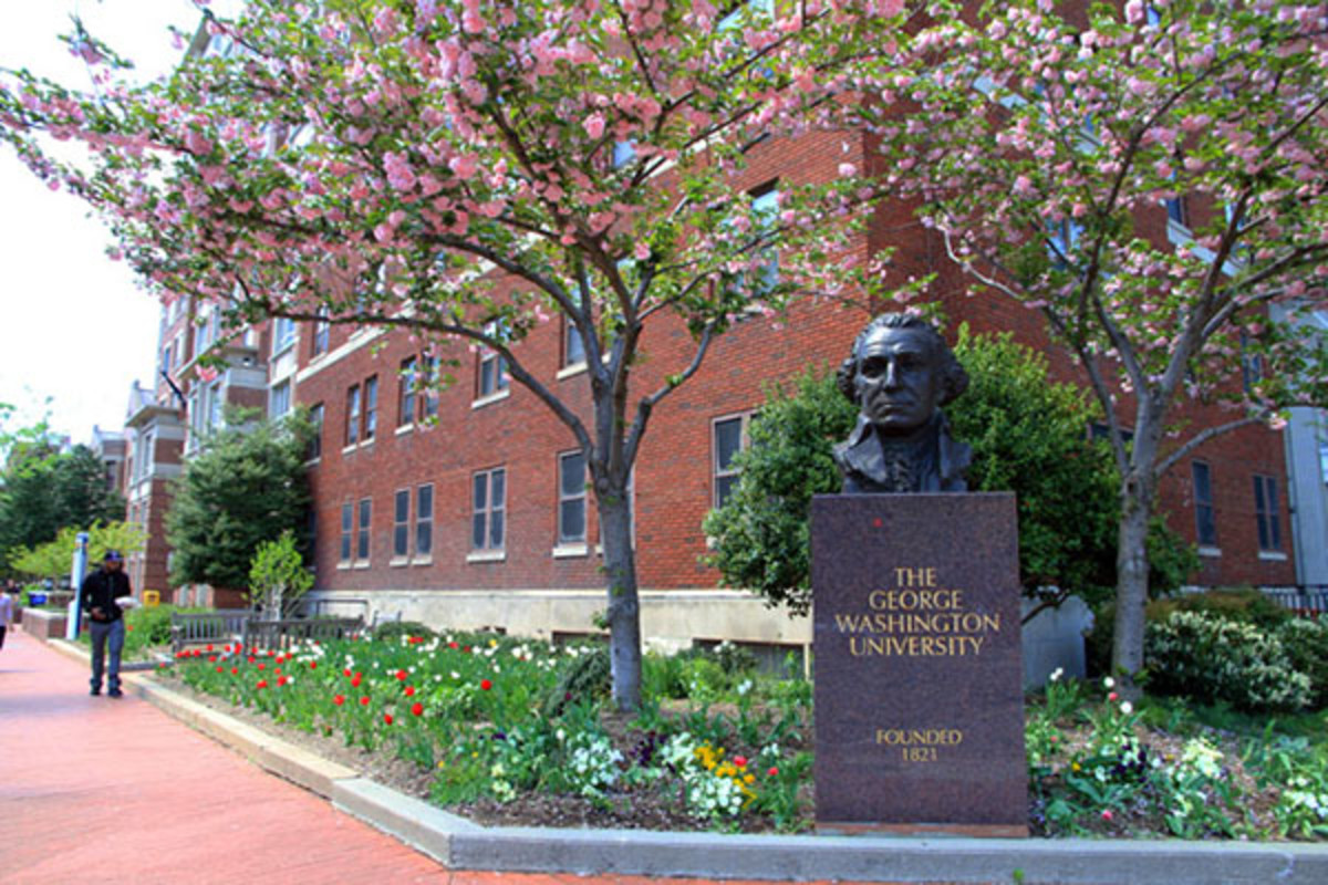 George Washington University. (PHOTO: INGFBRUNO/WIKIMEDIA COMMONS)