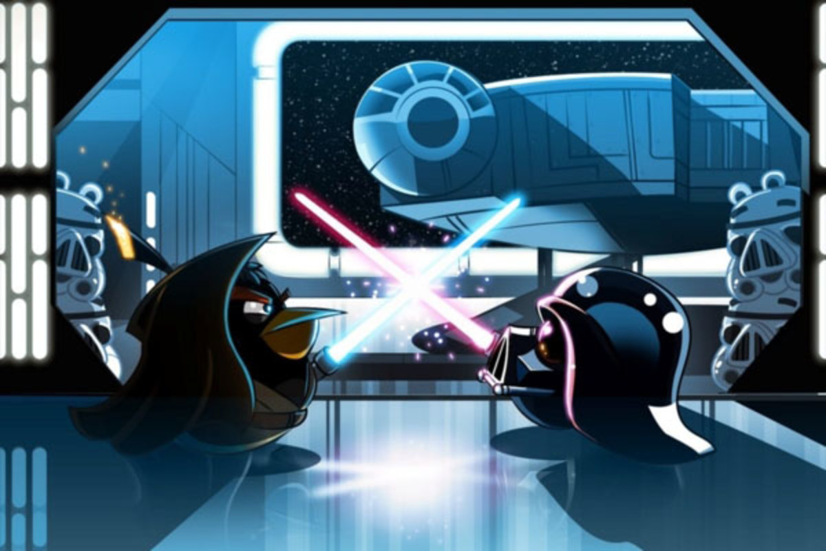 Angry Birds Star Wars. (PHOTO: COURTESY OF ROVIO ENTERTAINMENT)