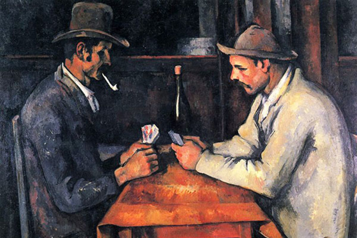 The Card Players by Paul Cézanne. (PHOTO: PUBLIC DOMAIN)