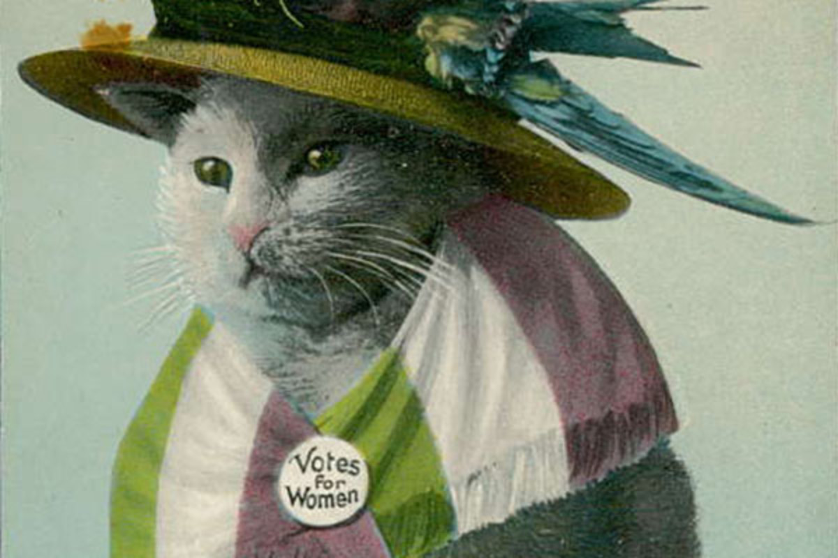 Mocking anti-suffrage postcard. (PHOTO: PUBLIC DOMAIN)