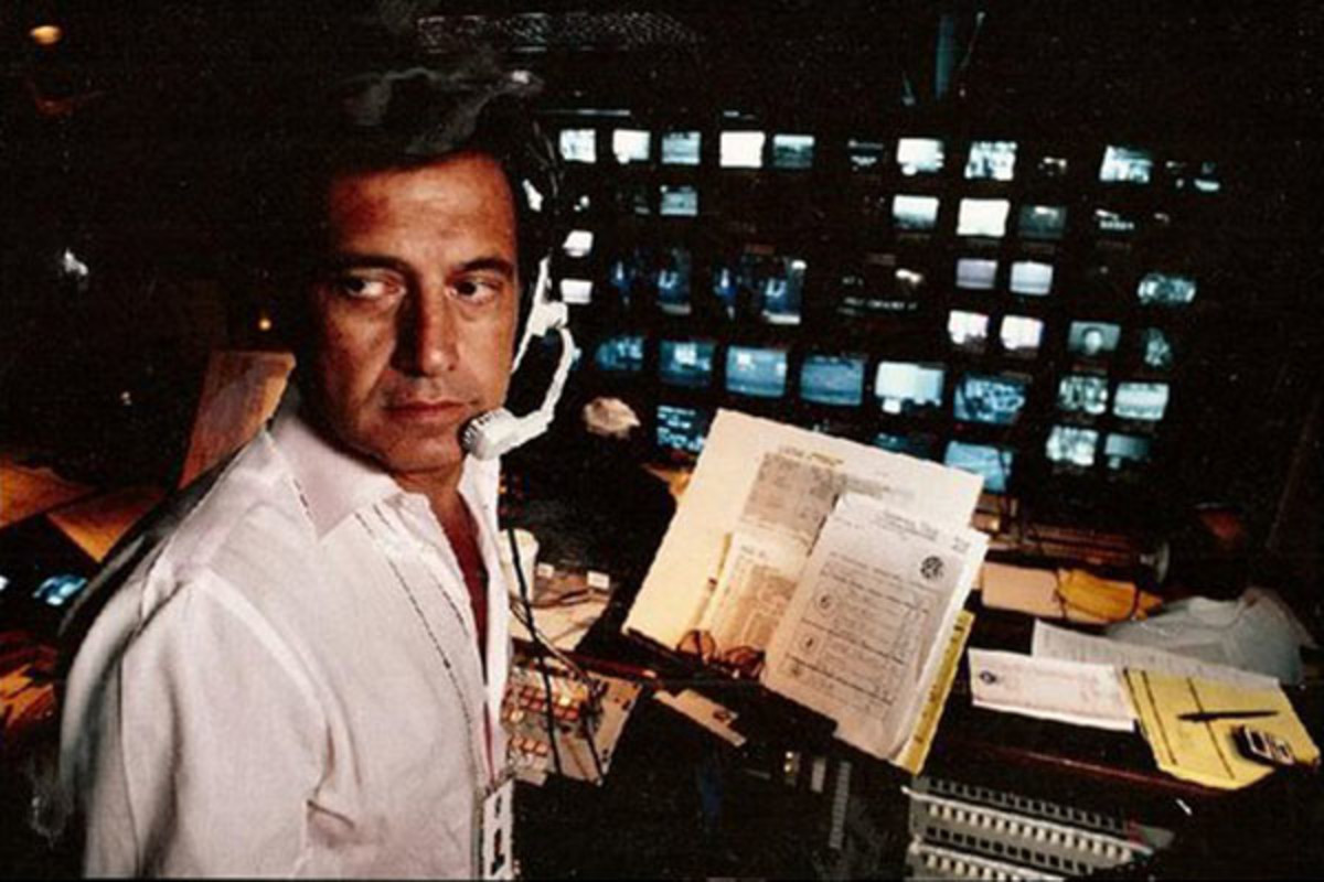 Tony Verna in the control room. (PHOTO: CREATIVE COMMONS)