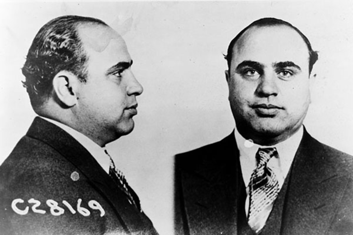 Mugshot from 1931 of American gangster Al Capone. (PHOTO: PUBLIC DOMAIN)