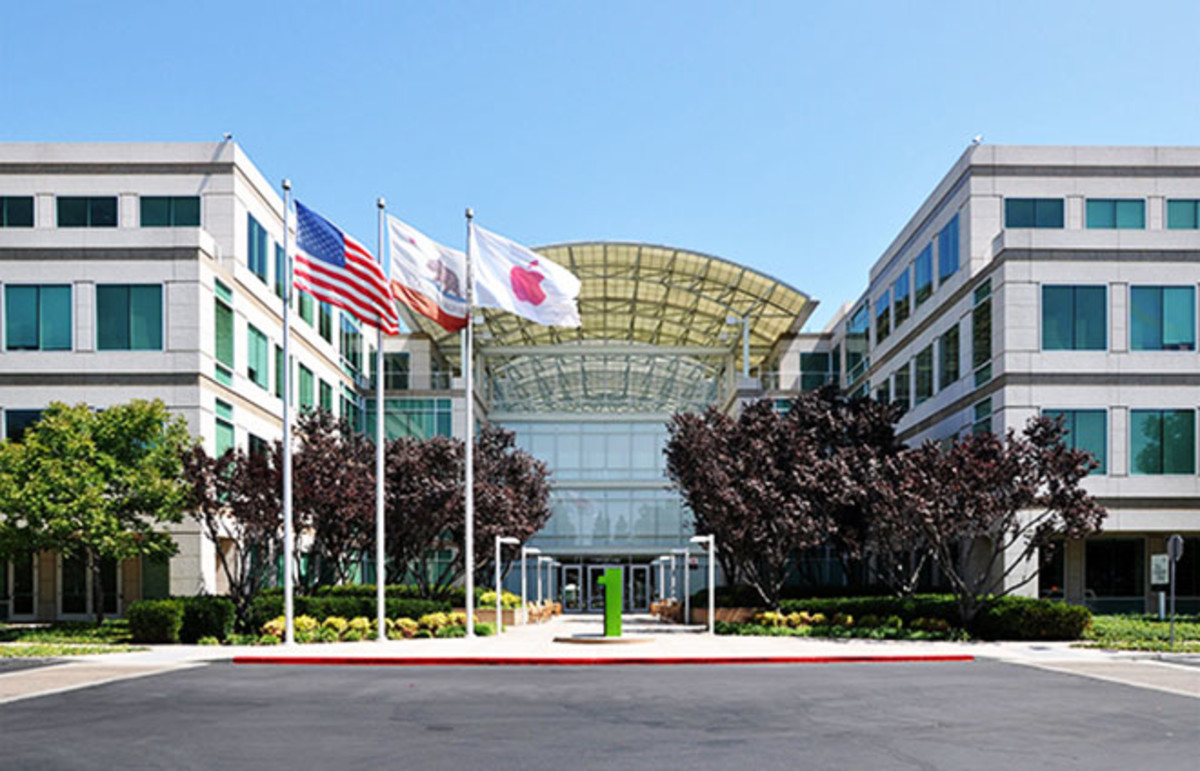 Apple headquarters on Infinite Loop in Cupertino, California. (Photo: Joe Ravi/Wikimedia Commons)