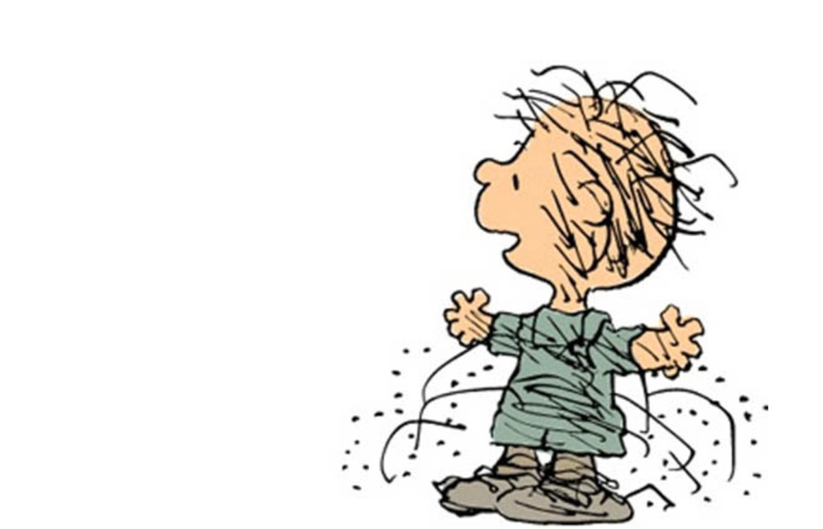 Pig-Pen from the Peanuts comic strip. (Photo: Courtesy of Universal Uclick)