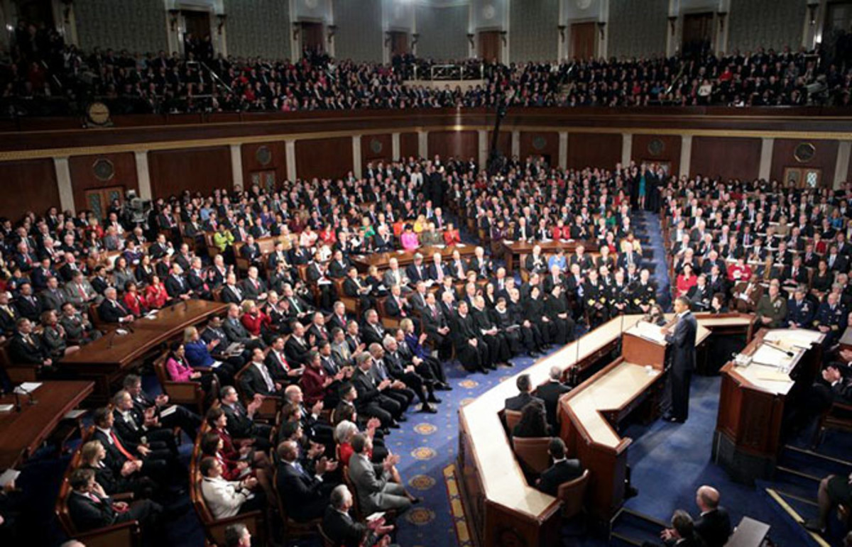 2011 State of the Union Address given by President Barack Obama. (Photo: Public Domain)