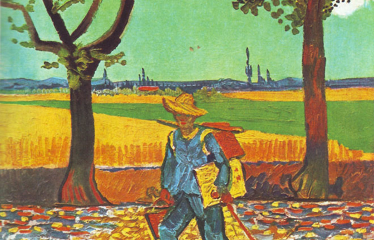 Painter on the Road to Tarascon, August 1888, Vincent van Gogh. (Photo: Public Domain)
