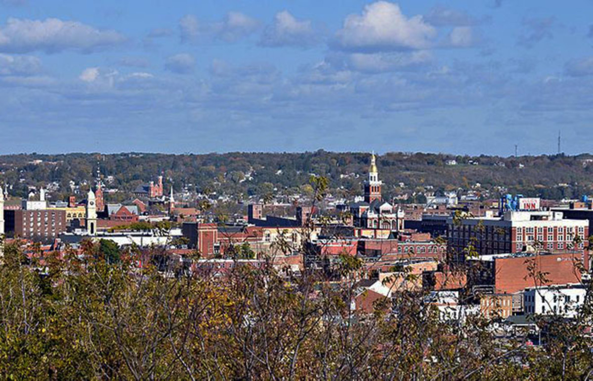 Downtown Dubuque, Iowa. (Photo: Dirk/Flickr)