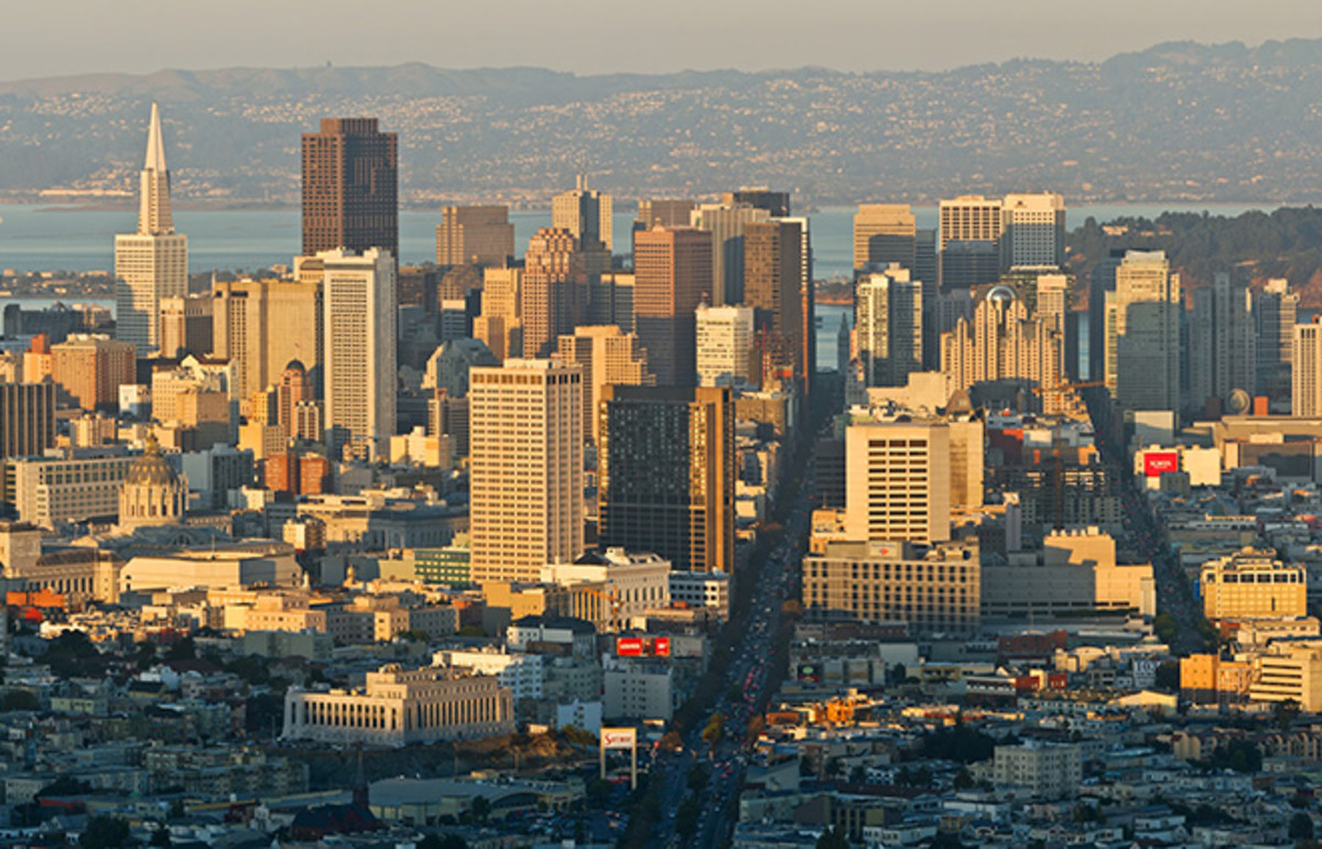 Downtown San Francisco. (Photo: Christian Mehlführer/Wikimedia Commons)