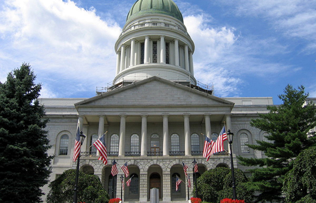 Maine State House. (Photo: Albany NY/Wikimedia Commons)
