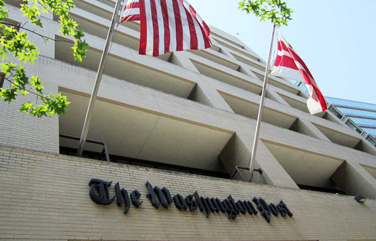 The Washington Post headquarters in Washington, D.C. (Photo: Daniel X. O'Neil/Wikimedia Commons)